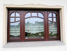 Anfertigung der Holzfenster erfolgt in unserer Wekstatt