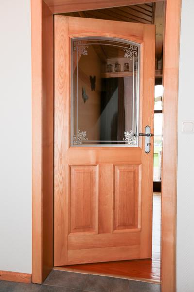 innent r aus holz und sicherheitsglas tischlerei maik westfahl. Black Bedroom Furniture Sets. Home Design Ideas