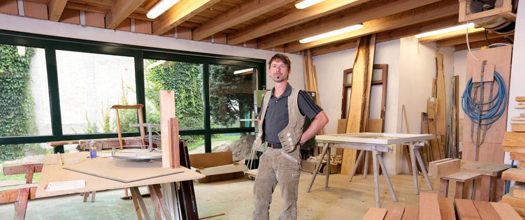Wir fertigen Qualität aus Echtholz